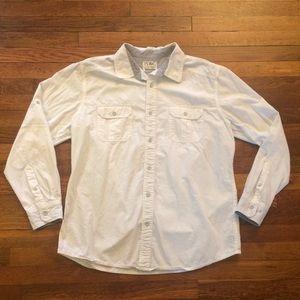 Paper Denim & Cloth Buttondown Men's Shirt Size XL